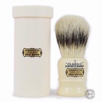 Simpson Classic 1 Travel Synthetic Shaving Brush