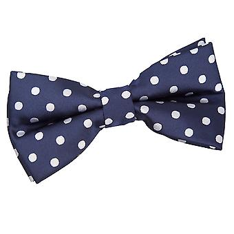 Polka Dot Marineblau-Fliege
