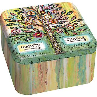 Essence Tin Candle 13.5oz-Lavender & Eucalyptus 3101003