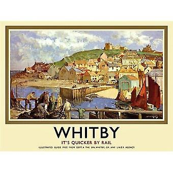Whitby (old rail ad.) fridge magnet  (og)
