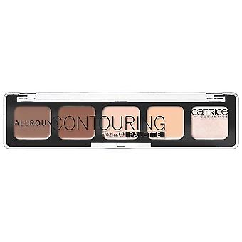 Catrice Cosmetics Allround Palette Contouring (Damen , Make-Up , Gesicht , Rouge)