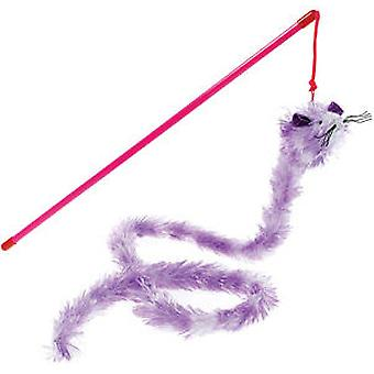 Classic For Pets Shimmer Tail Mice 100cm (Cats , Toys , Teaser Wands)