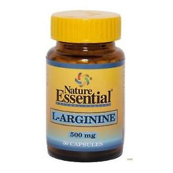 Nature Essential L-Arginine 500mg 50 Capsules