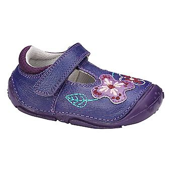 Hush Puppies Girls Gert Pre-walkers F Fitting Purple