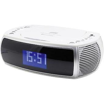DAB+ Radio alarm clock SoundMaster URD470WE AUX, CD, DAB+, FM, USB White