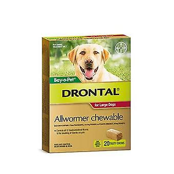 Drontal tyggetabletter 35kg 20pack