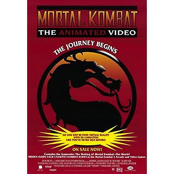 Mortal Kombat Movie Poster (11 x 17)