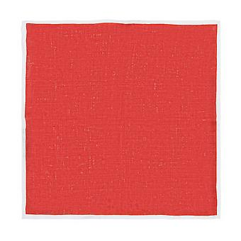 Baldessarini handkerchief Hanky Cavalier cloth silk Red