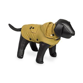 Nobby Mellow Dog Coat Yellow With Hood 44cm