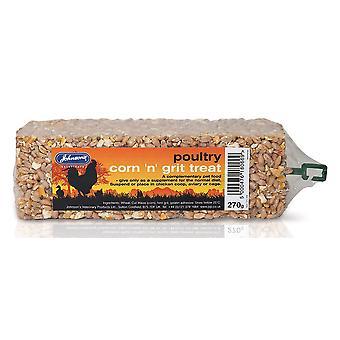 Jvp Poultry Corn & Grit Bar 270g (Pack of 10)