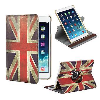 360 stopni Design Book case dla Apple iPad Mini 4 Gen - Union Jack