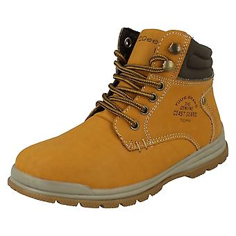JCDEES Boys Work Style Boots.