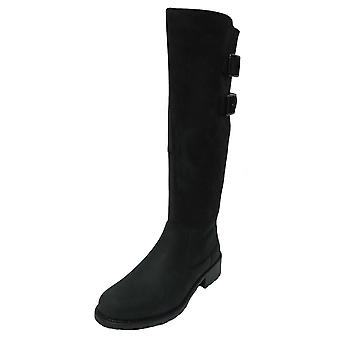 Ladies Clarks Riding Style Long Boots Orinoco Tango