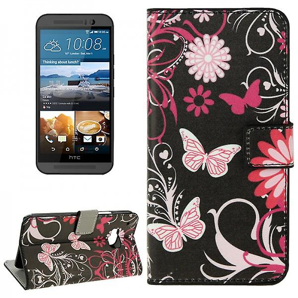 Cover wallet pattern 4 for HTC one 3 M9 2015
