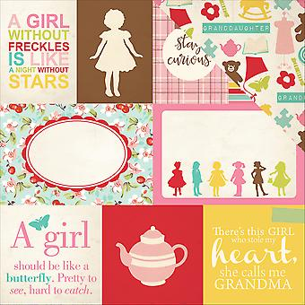 Granddaughter Double-Sided Cardstock 12