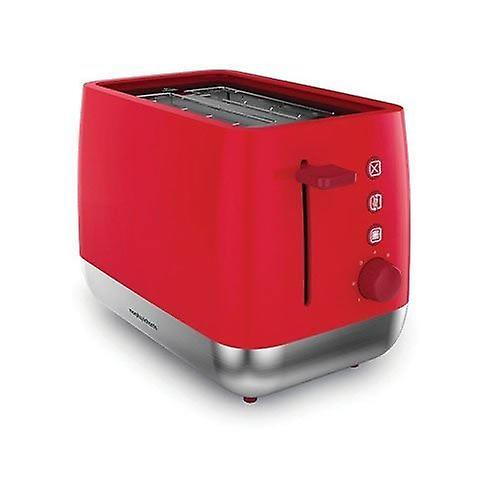 Morphy Richards Chroma 2 Slice Toaster - Red with browning control (221112)