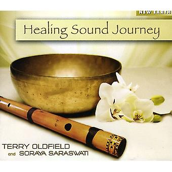 Terry Oldfield - Healing lyd rejse [CD] USA import
