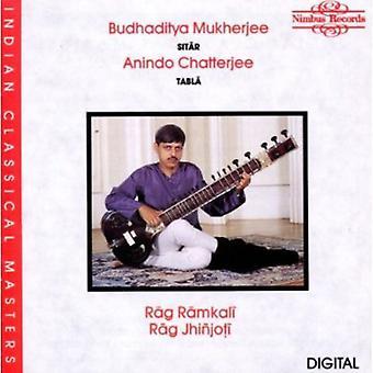 Budhaditya Mukherjee - Rag Ramkali/Rag Jhinjoti [CD] USA import