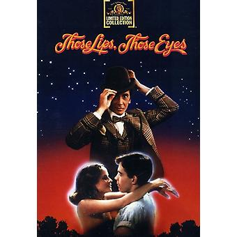 Those Lips, Those Eyes [DVD] USA import