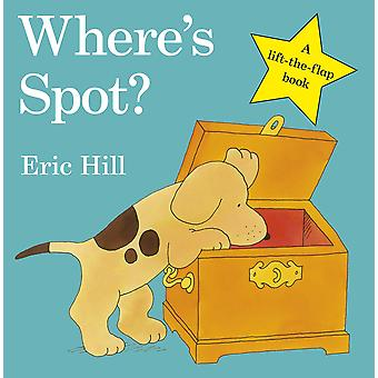 Where's Spot? By Eric Hill (Board Book)