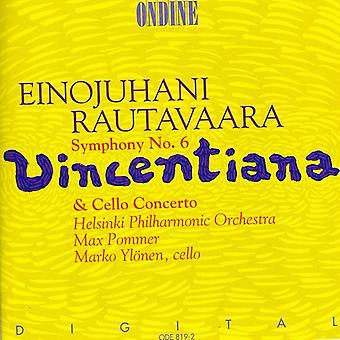 E. Rautavaara - Rautavaara: Symphony No. 6; Cello Concerto [CD] USA import