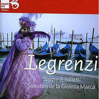 Giovanni Legrenzi - Giovanni Legrenzi: Sonate E Balletti [CD] USA import