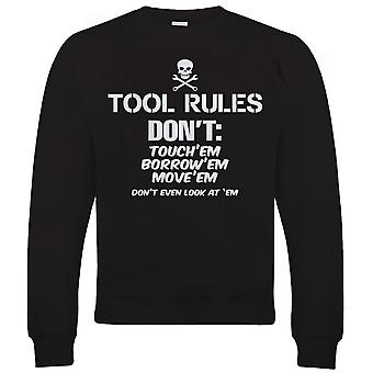 Vectorbomb, Tool Rules, Funny Car Sweatshirt