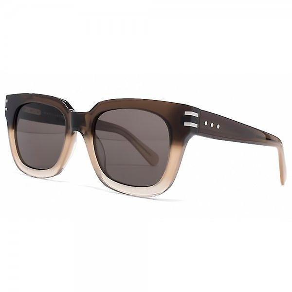 Marc Jacobs Super Square Sunglasses In Brown Beige