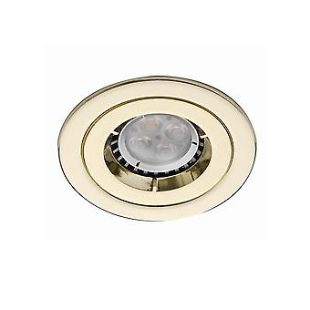 Ansell ICage Mini Downlights 50W GU10 Messing