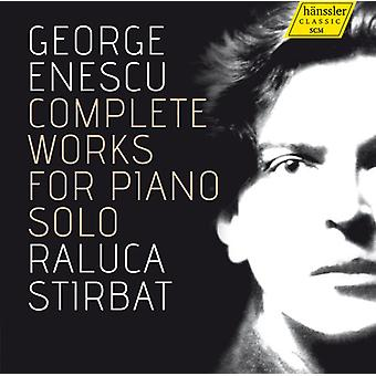 Enescu / Stirbat, Raluca - Enescu / Stirbat, Raluca: Complete Works for Piano Solo [CD] USA import