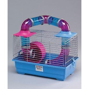 Mgz Alamber Tubes Hamster Cage (37X23X25) (Petits animaux , Hamster , Cages et Parcs)