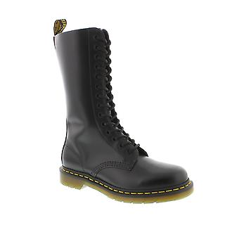 Dr Martens 1914 - Black Smooth Leather Womens Boots
