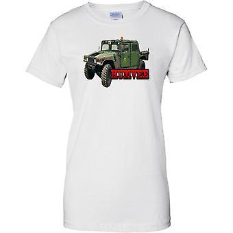 Humvee - US Armee gepanzerte Fahrzeug - Damen-T-Shirt