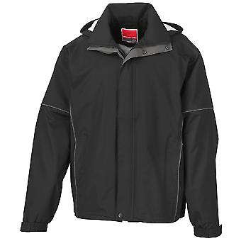 Result Mens Urban Outdoor Lightweight Technical Jacket (Waterproof & Windproof)