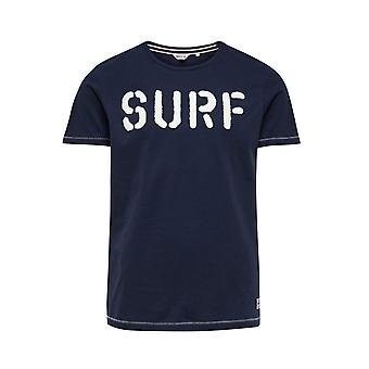 Jack and Jones Costal Tee Navy Blue T-Shirt