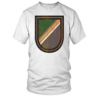 US Army 75 Ranger Regiment Regimental Flash Grunge Effect Mens T Shirt