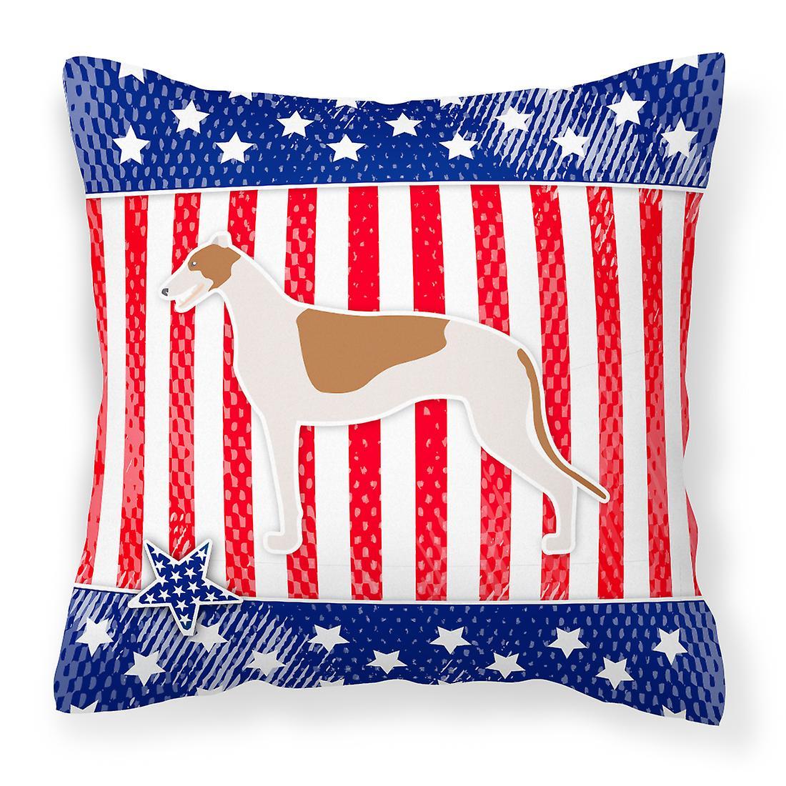 De Greyhound Patriotique Décoratif Tissu Usa Oreiller OwPZuXiTk