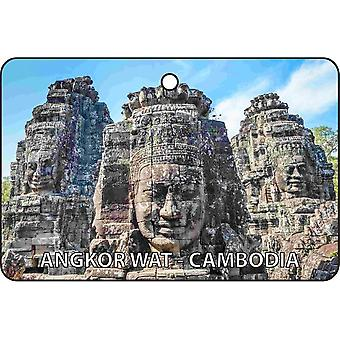 Angkor Wat - Cambodia Car Air Freshener