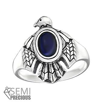 Eagle - 925 Sterling Silver Jewelled Rings