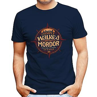Lord Of The Rings Simply Walked Into Mordor Men's T-Shirt