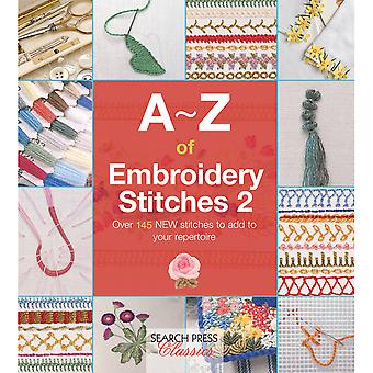 Search Press Books-A-Z Of Embroidery Stitches 2 SP-11693