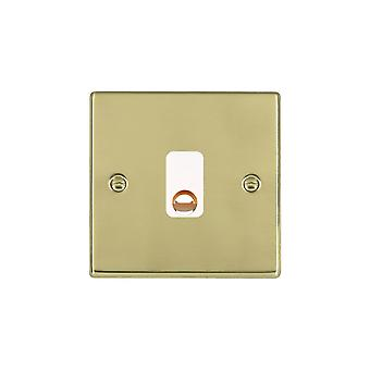 Hamilton Litestat Hartland Polished Brass 20A Cable Outlet WH