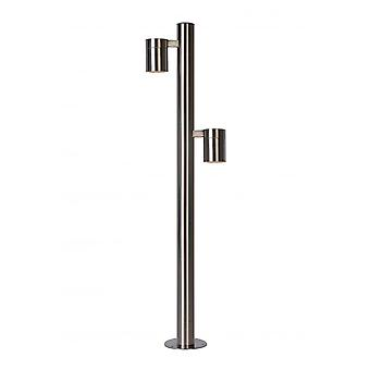 Lucide ARNE-LED Post H90cm 2xGU10/5W 350LM 2700K