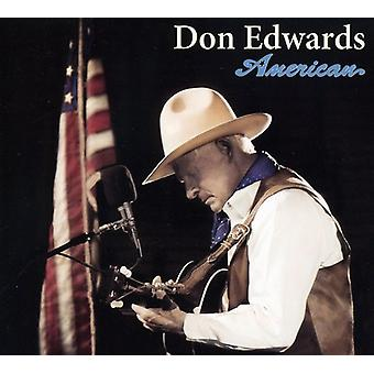 Don Edwards - amerikansk [CD] USA import