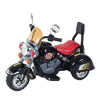 Homcom Ride On Toy Car Kids Motorbike Electric Motor 6V Battery Operated Toy  (Black)