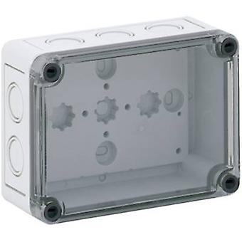 Build-in casing 94 x 130 x 57 Polycarbonate (PC) Light grey Spe