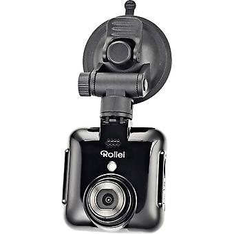 Dashcam Rollei DVR-71 Horizontal viewing angle (max.)=120 ° 12 V Battery, Display, Microphone