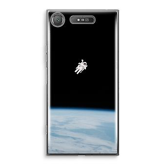 Sony Xperia XZ1 Transparant Case (Soft) - Alone in Space