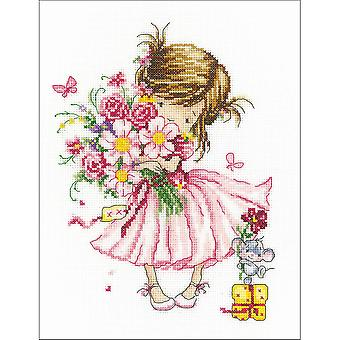 For You! Counted Cross Stitch Kit-8