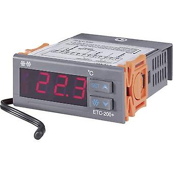 Temperature controller VOLTCRAFT ETC-200+ NTC -40 up to +120 °C 10 A relay (L x W x H) 88 x 75 x 34.5 mm